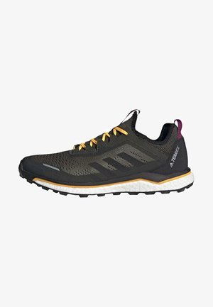 TERREX AGRAVIC FLOW SHOES - Trail running shoes - green