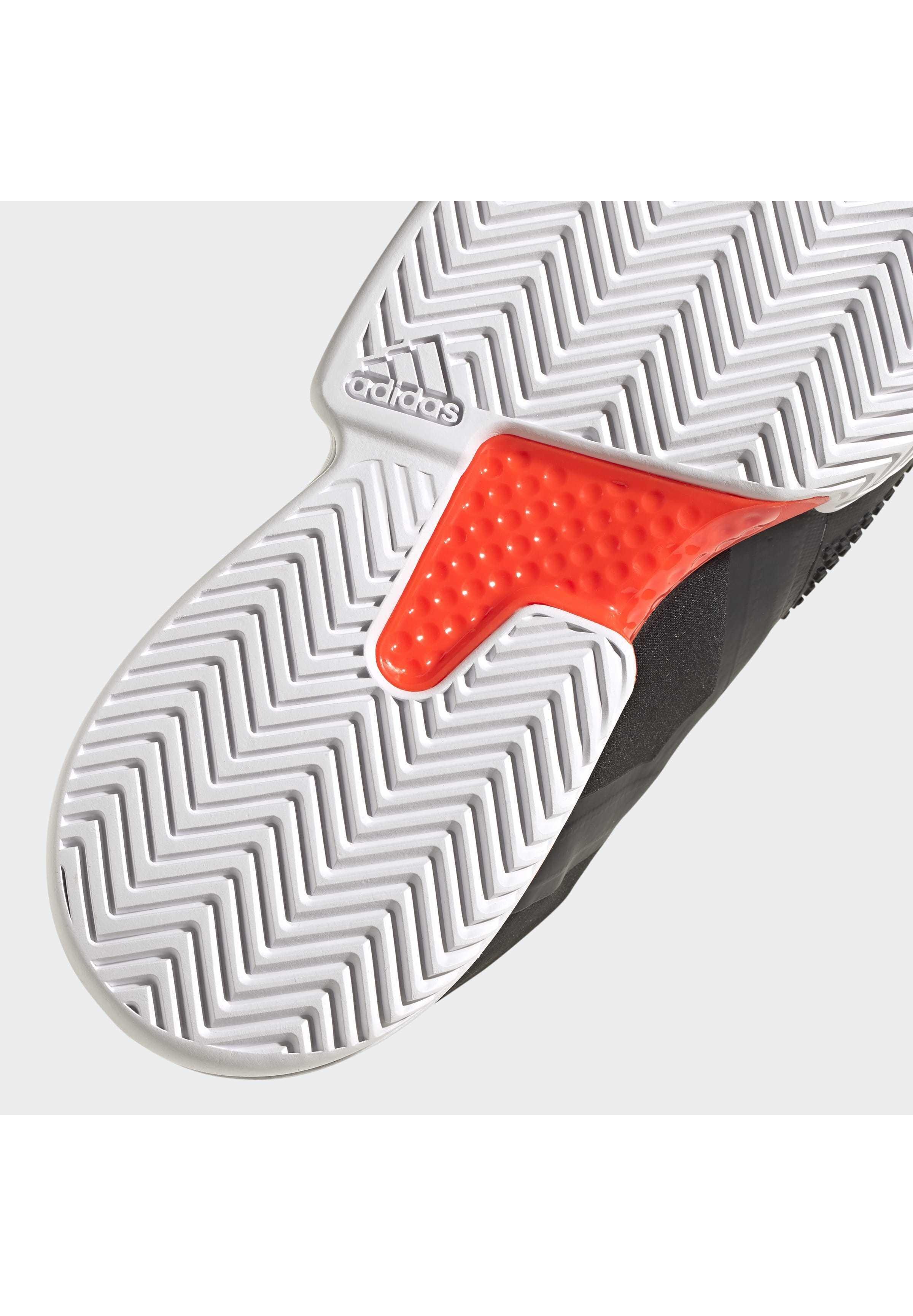 Adidas Performance Solematch Bounce Hard Court Shoes - Tennisschoenen Voor Kleibanen Black Goedkope Schoenen