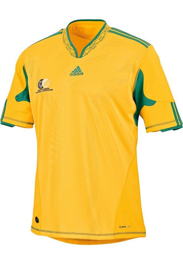 SÜDAFRIKA HEIM TRIKOT WM 2010 - National team wear - gelb/grün