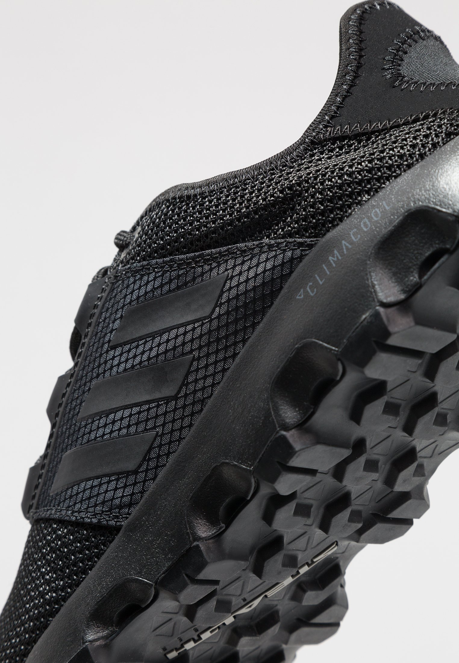 adidas Performance TERREX VOYAGER - Obuwie do biegania Turystyka - carbon/core black