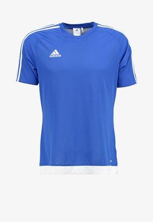 ESTRO - Sports shirt - blau/weiß
