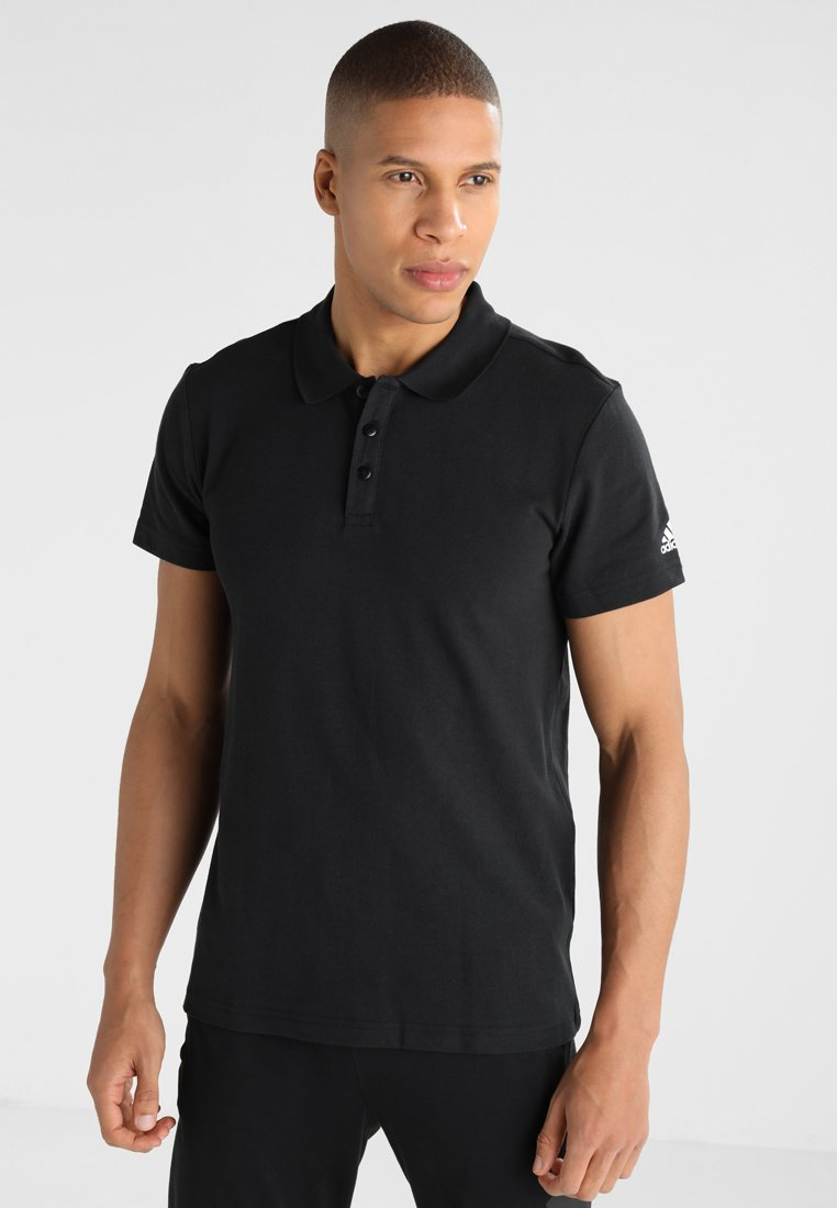 adidas Performance - ESSENTIALS BASE - Polo shirt - black