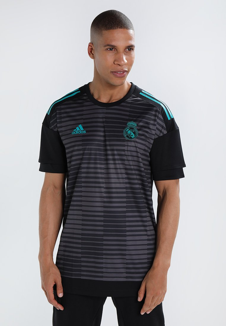 adidas Performance - REAL MADRID HOME PRESHI - Vereinsmannschaften - black/granite