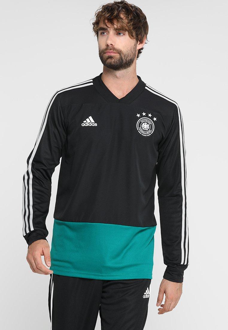 adidas Performance - DFB DEUTSCHLAND - National team wear - black/eqtgreen/grey two