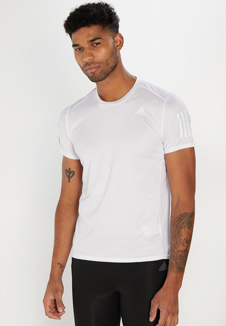 adidas Performance - TEE - T-shirt print - white