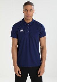 adidas Performance - CORE18 - Camiseta de deporte - darkblue/white - 0