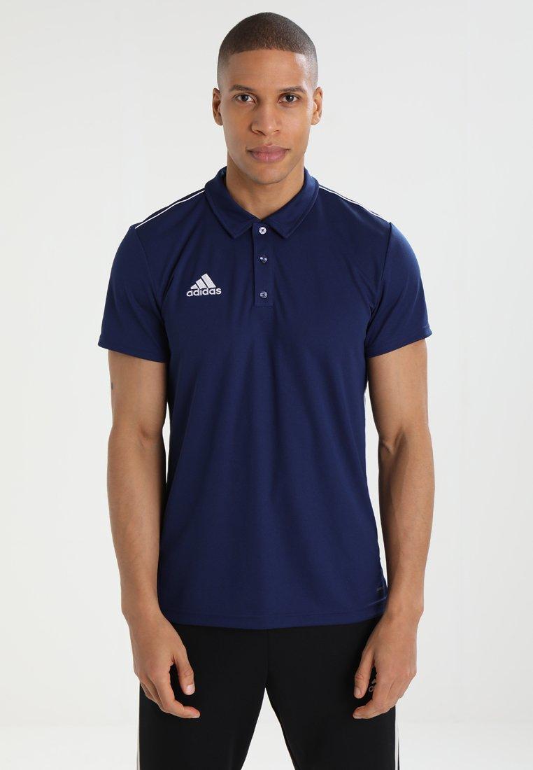 adidas Performance - CORE18 - Camiseta de deporte - darkblue/white