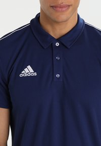 adidas Performance - CORE18 - Camiseta de deporte - darkblue/white - 4