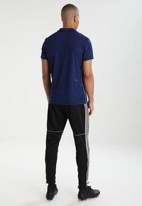 adidas Performance - CORE18 - Camiseta de deporte - darkblue/white - 2