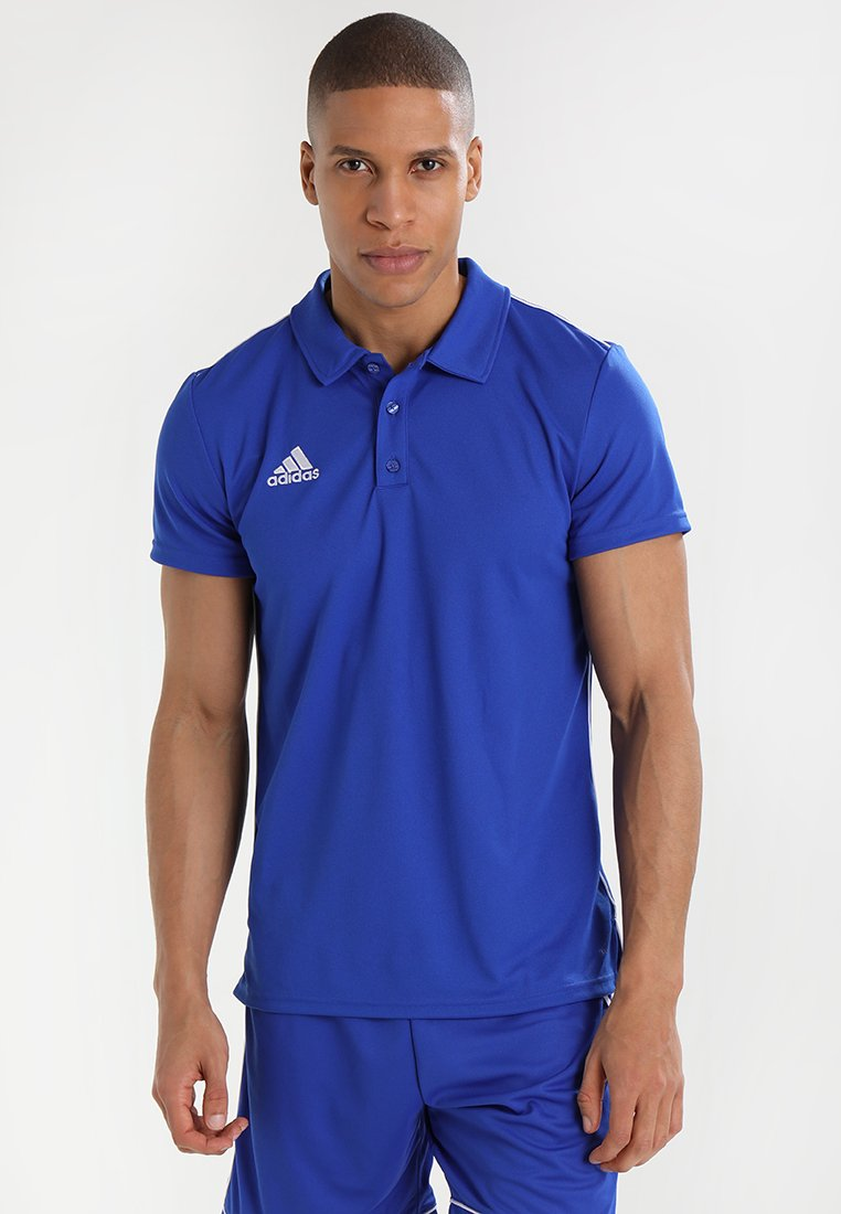 adidas Performance - CORE18 - Camiseta de deporte - boblue/white