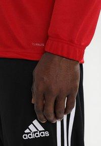 adidas Performance - CORE 18 TRAINING TOP - Tekninen urheilupaita - powred/white - 3