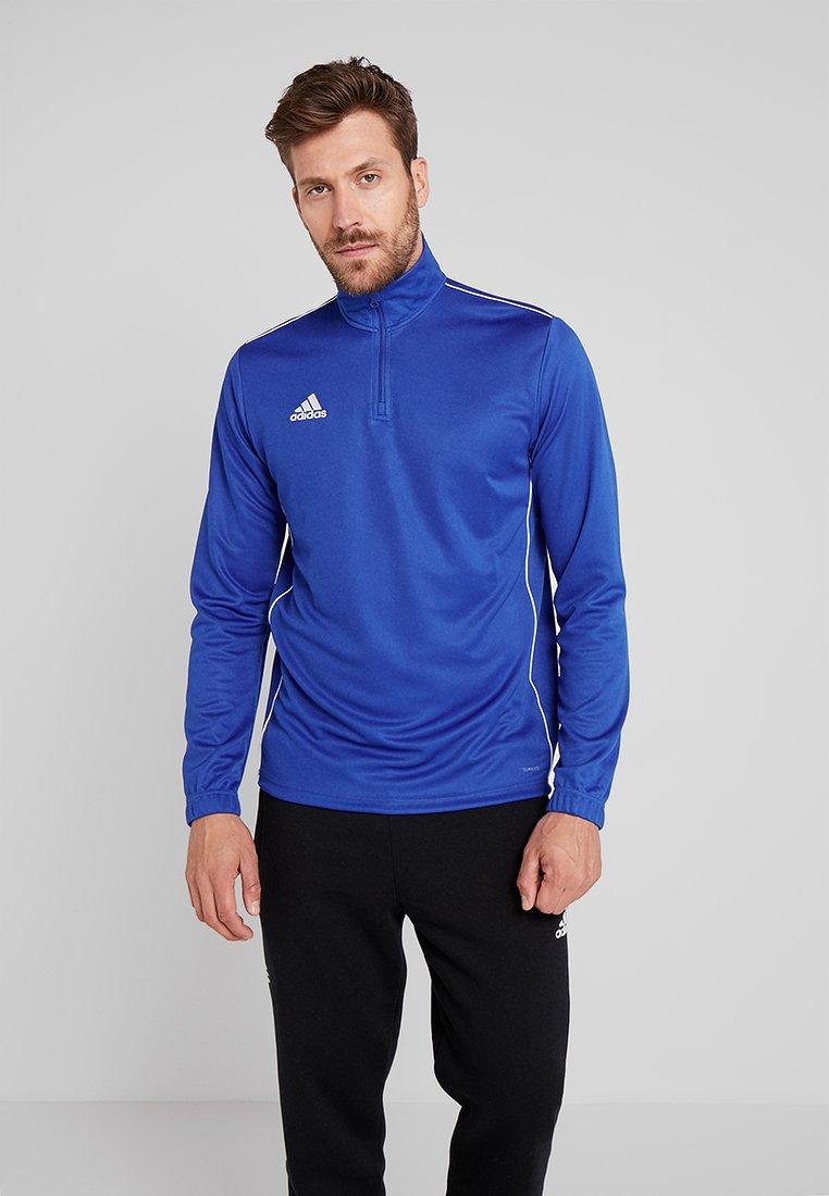adidas Performance - CORE 18 TRAINING TOP - Sports shirt - boblue/white