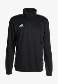 adidas Performance - CORE 18 TRAINING TOP - Koszulka sportowa - black/white - 3
