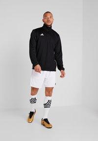 adidas Performance - CORE 18 TRAINING TOP - Koszulka sportowa - black/white - 1