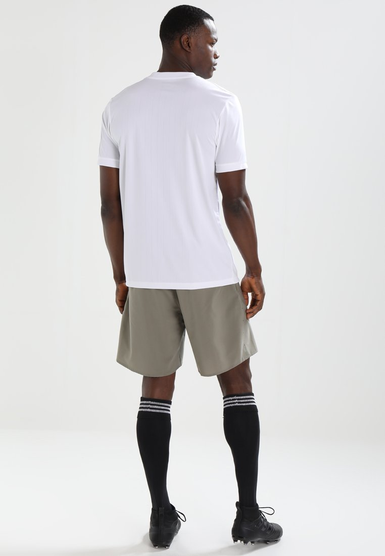 Adidas white Performance Tabela Imprimé White 18T shirt E29IDH