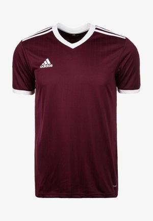 TABELA 18 - Print T-shirt - burgundy/white