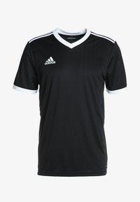 adidas Performance - TABELA 18 - Print T-shirt - black/white - 3
