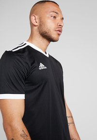 adidas Performance - TABELA 18 - Print T-shirt - black/white - 4