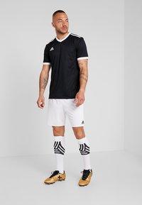 adidas Performance - TABELA 18 - Print T-shirt - black/white - 1