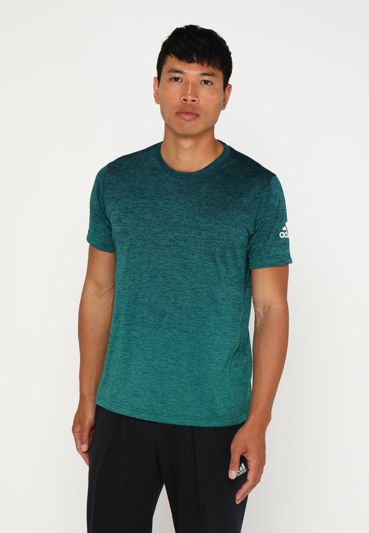 adidas Performance - FREELIFT GRADI - Basic T-shirt - green