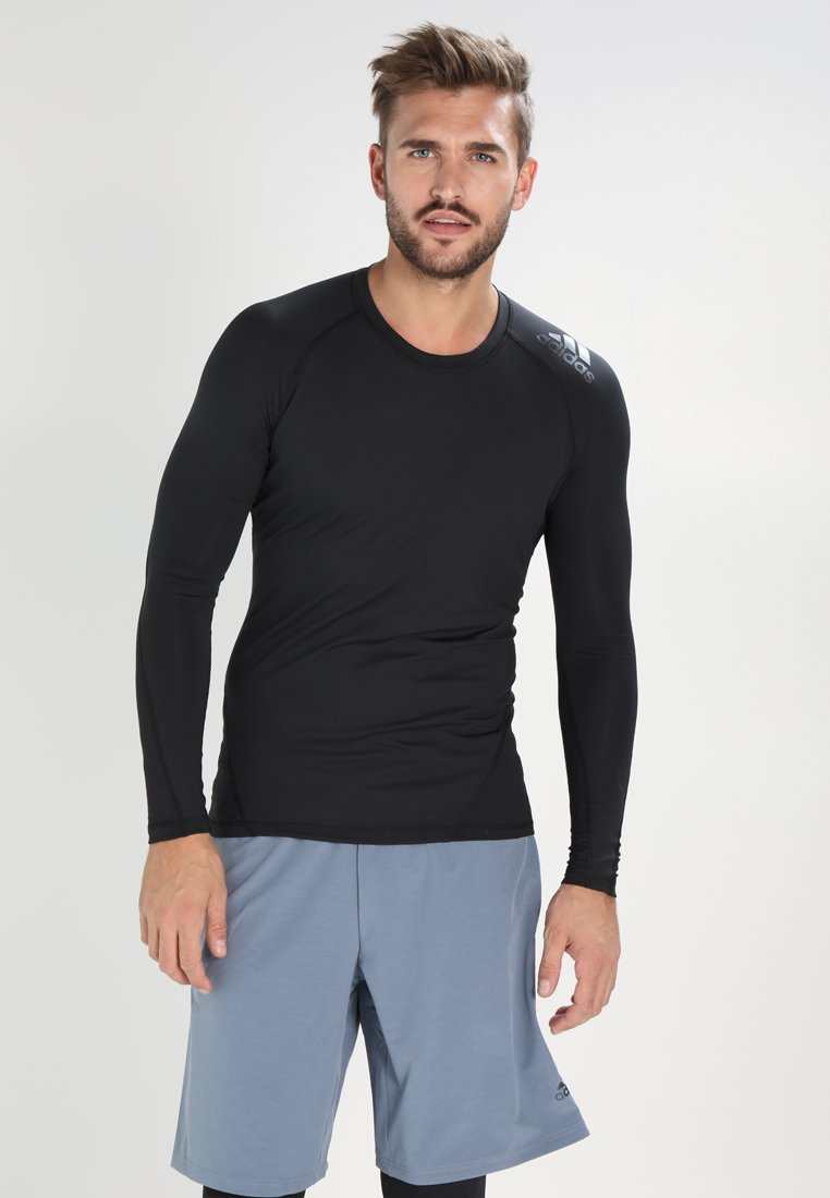 adidas Performance - ASK TEE - Sportshirt - black