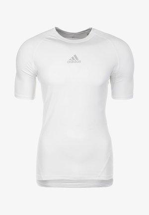 ALPHASKIN SPORT - Basic T-shirt - white