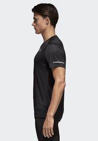adidas Performance - RUN TEE  - Print T-shirt - black - 2