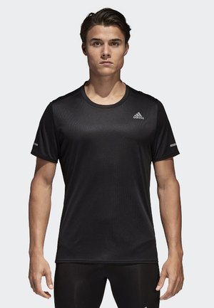 RUN TEE  - T-shirt med print - black