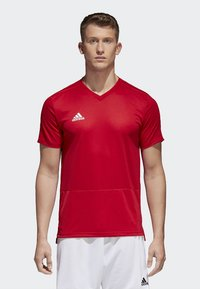 adidas Performance - CONDIVO 18 TRAINING JERSEY - T-shirts - power red/white - 0