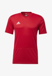 adidas Performance - CONDIVO 18 TRAINING JERSEY - T-shirts - power red/white - 6