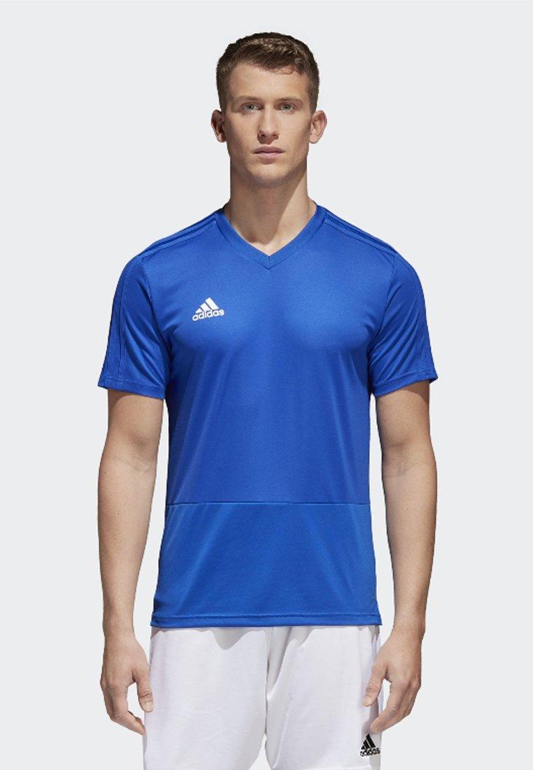 JerseyT Blue white Condivo Performance Training Basique Adidas 18 Bold shirt yb7Yf6vg