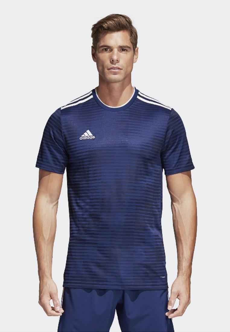 adidas Performance - CONDIVO 18 JERSEY - Print T-shirt - dark blue