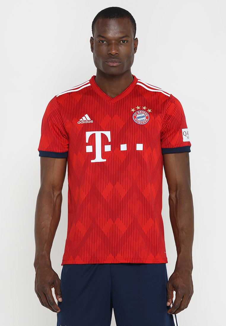 adidas Performance - FC BAYERN HOME - Squadra - true red/strong red/white