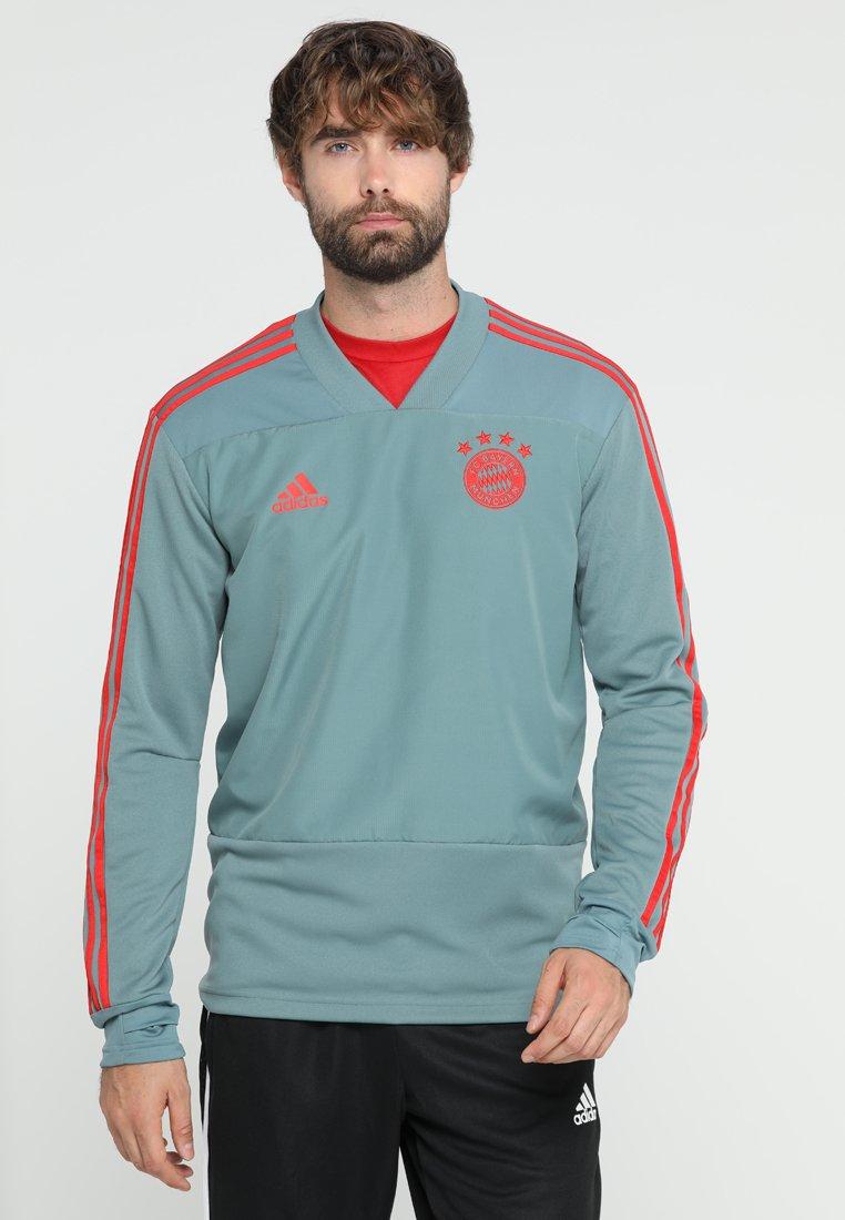 adidas Performance - FC BAYERN - Club wear - raw green/red