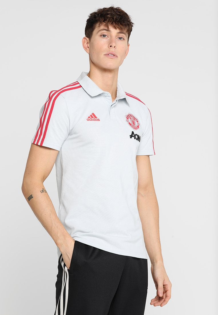 adidas Performance - MANCHESTER UNITED - Article de supporter - clear grey/blaze red