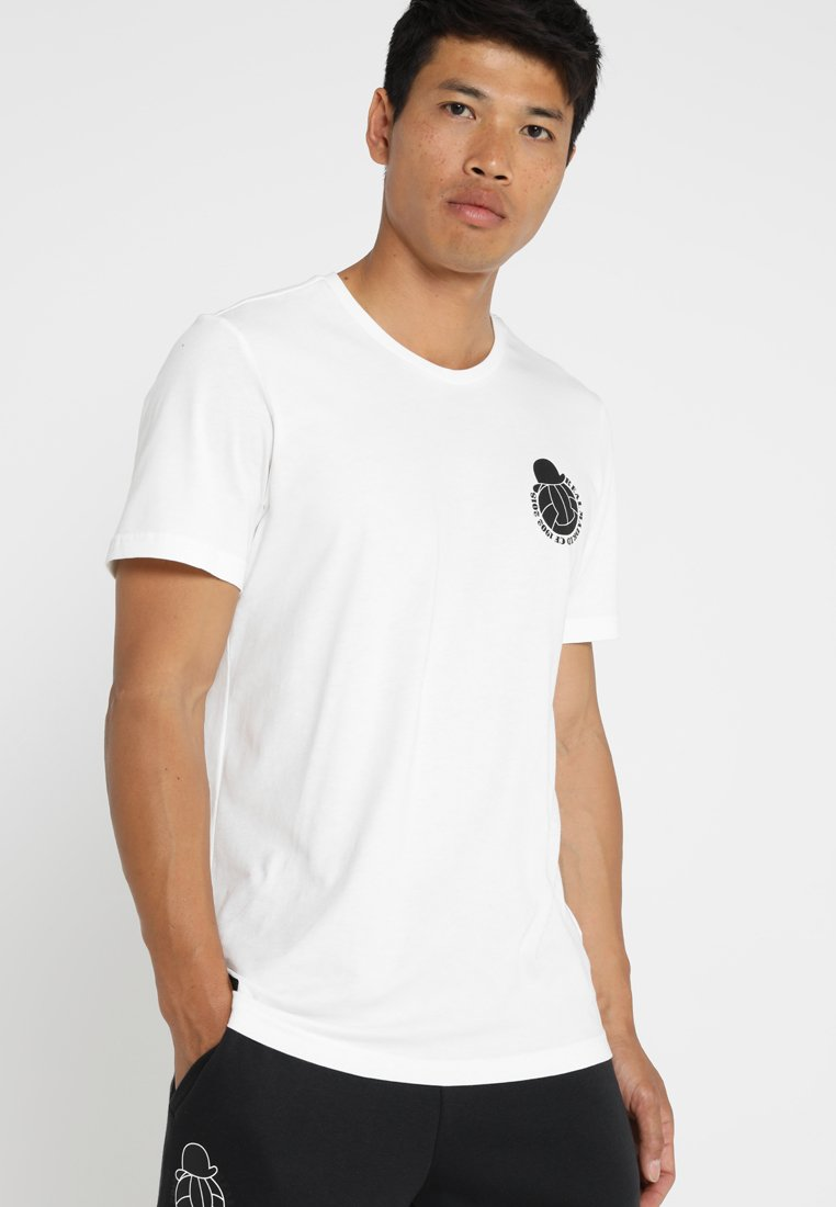 adidas Performance - REAL GRA TEE - Vereinsmannschaften - white