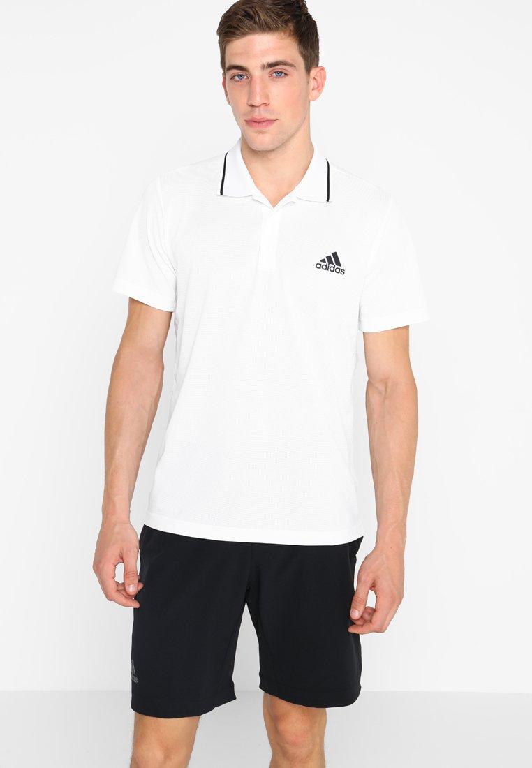 adidas Performance - CLUB TEX  - Sportshirt - white