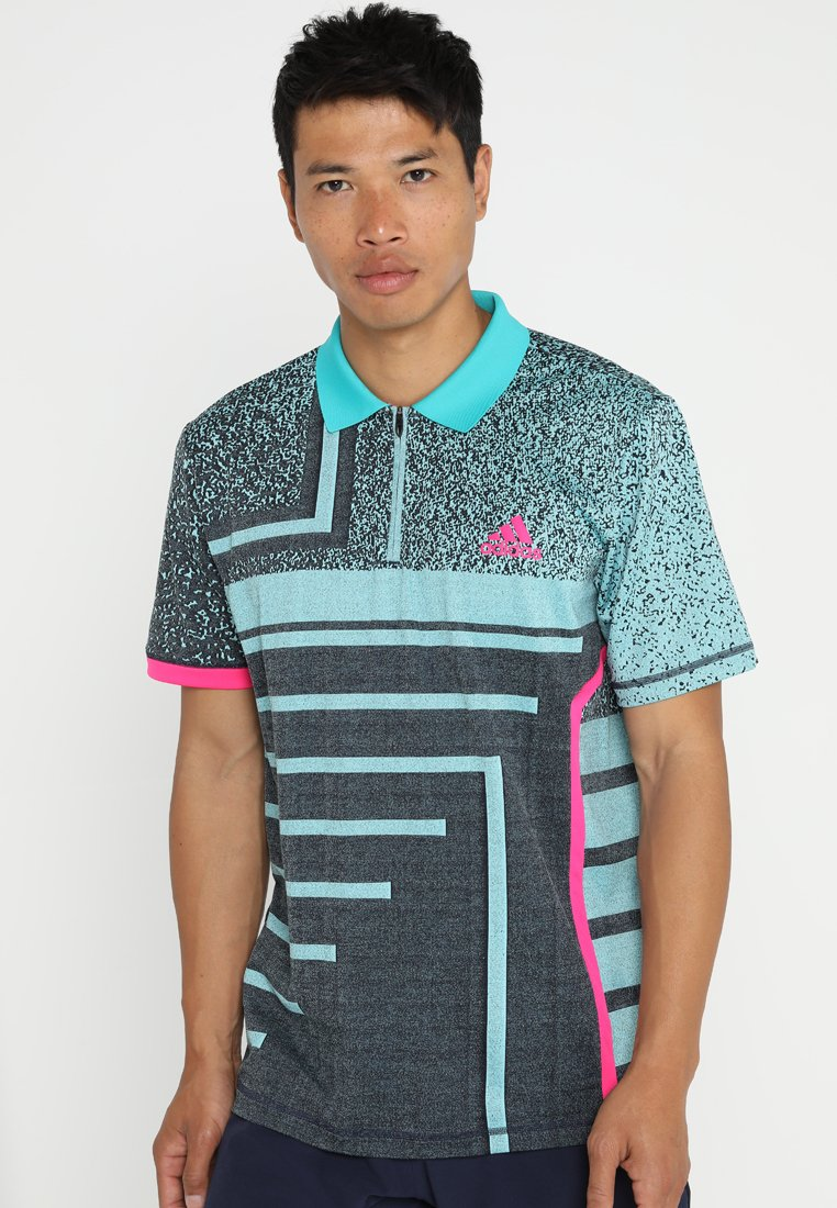 adidas Performance - SEASONAL  - Sports shirt - legned ink/ hi res aqua