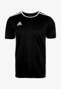 adidas Performance - ENTRADA - T-shirt - bas - black - 1