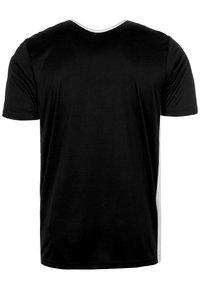 adidas Performance - ENTRADA - T-shirt - bas - black - 2