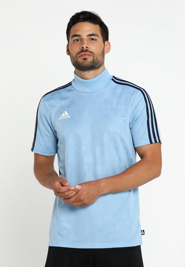 adidas Performance - T-shirt print - ash blue