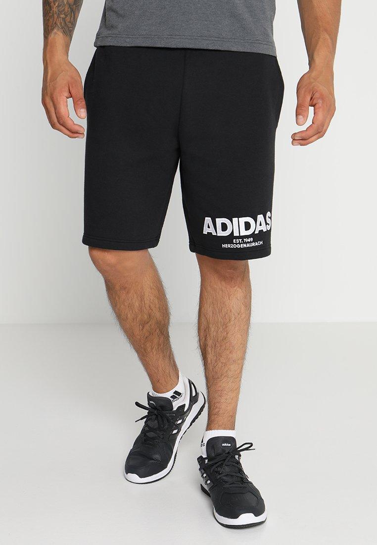 adidas Performance - ALLCAP  - kurze Sporthose - black