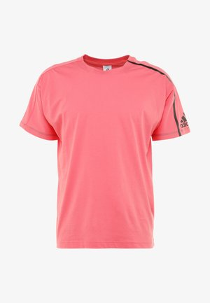 ZNE TEE - T-shirt med print - pink