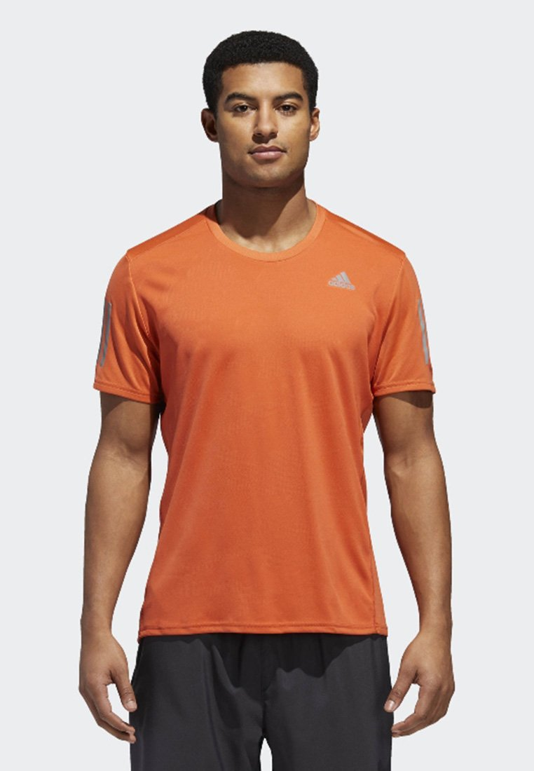 adidas Performance - RESPONSE LONGSLEEVE - Print T-shirt - orange