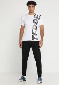 adidas Performance - TERREX TRAIL CROSS MOUNTAIN BIKE TEE SHIRT - T-shirt de sport - white - 1