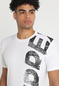 adidas Performance - TERREX TRAIL CROSS MOUNTAIN BIKE TEE SHIRT - T-shirt de sport - white - 3