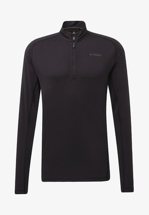 TRACE ROCKER LONG-SLEEVE TOP - Sweat polaire - black