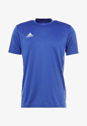 AEROREADY PRIMEGREEN JERSEY SHORT SLEEVE - Print T-shirt - blue/white