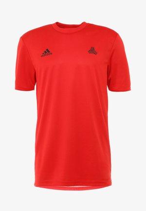 TAN - Print T-shirt - red