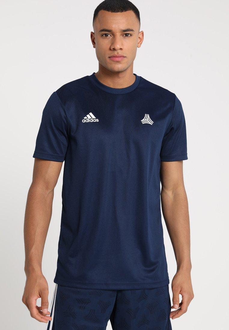 adidas Performance - TAN - T-Shirt print - collegiate navy